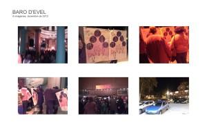 Fotografías al salir de ver el espectáculo MAZUT y entrar en el Hall del MERCAT