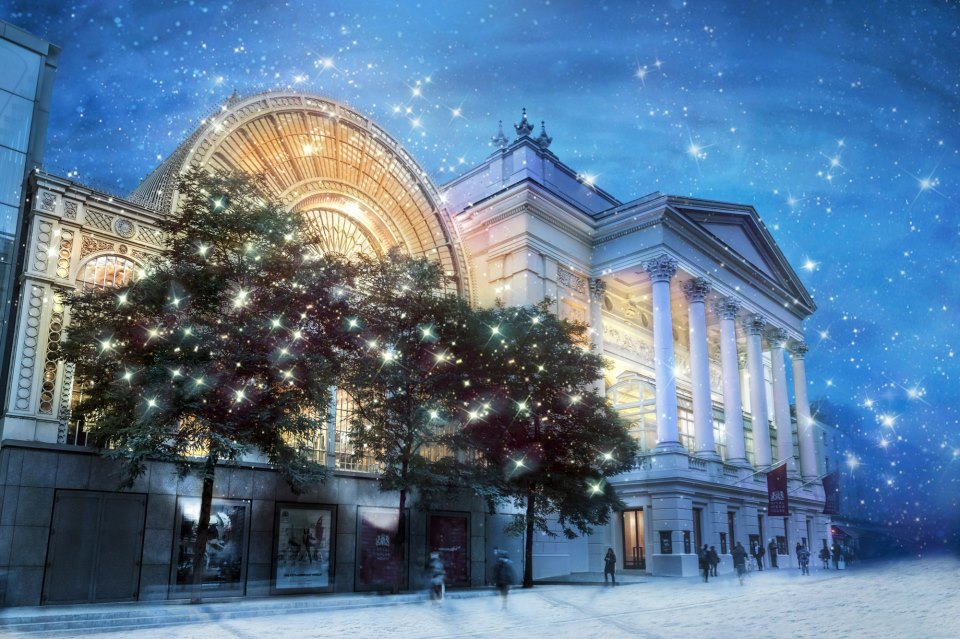 Imagen: Royal Opera House - Covent Garden - Londres.  Imagen extraída de su fanpage https://www.facebook.com/royaloperahouse