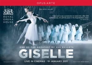 """Anuncio del ballet clásico """"Giselle"""" del Royal Opera House (ROH) para ver retransmisión en vivo en cines"""