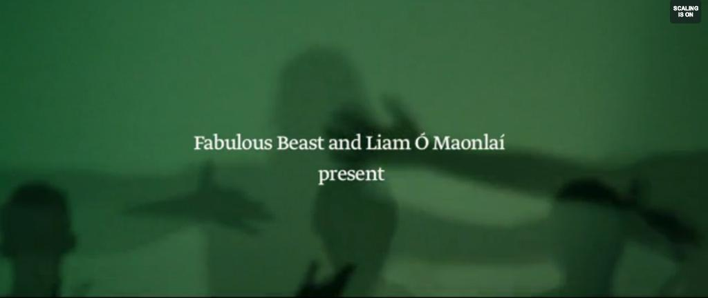 """2 minutos de… música irlandesa y danza contemporánea, """"Rian"""""""