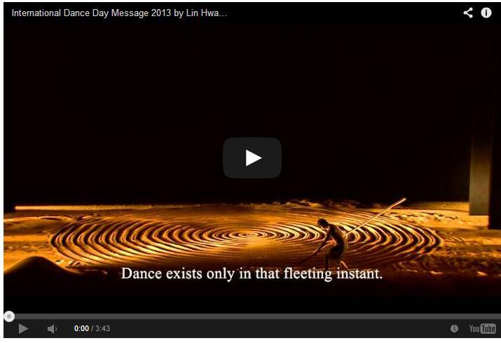 Mensaje del día Internacional de la Danza 2013 de LinHwai-min