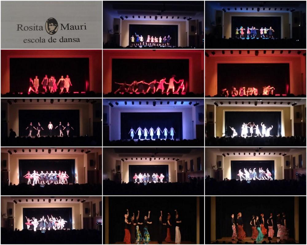Unos minutos de homenaje a escuelas, profesores de danza, y alumnos... los festivales de final de curso de junio (4/5)