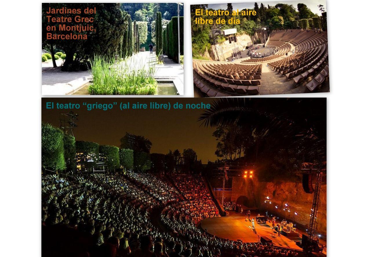 Presentacion Teatre Grec BCN