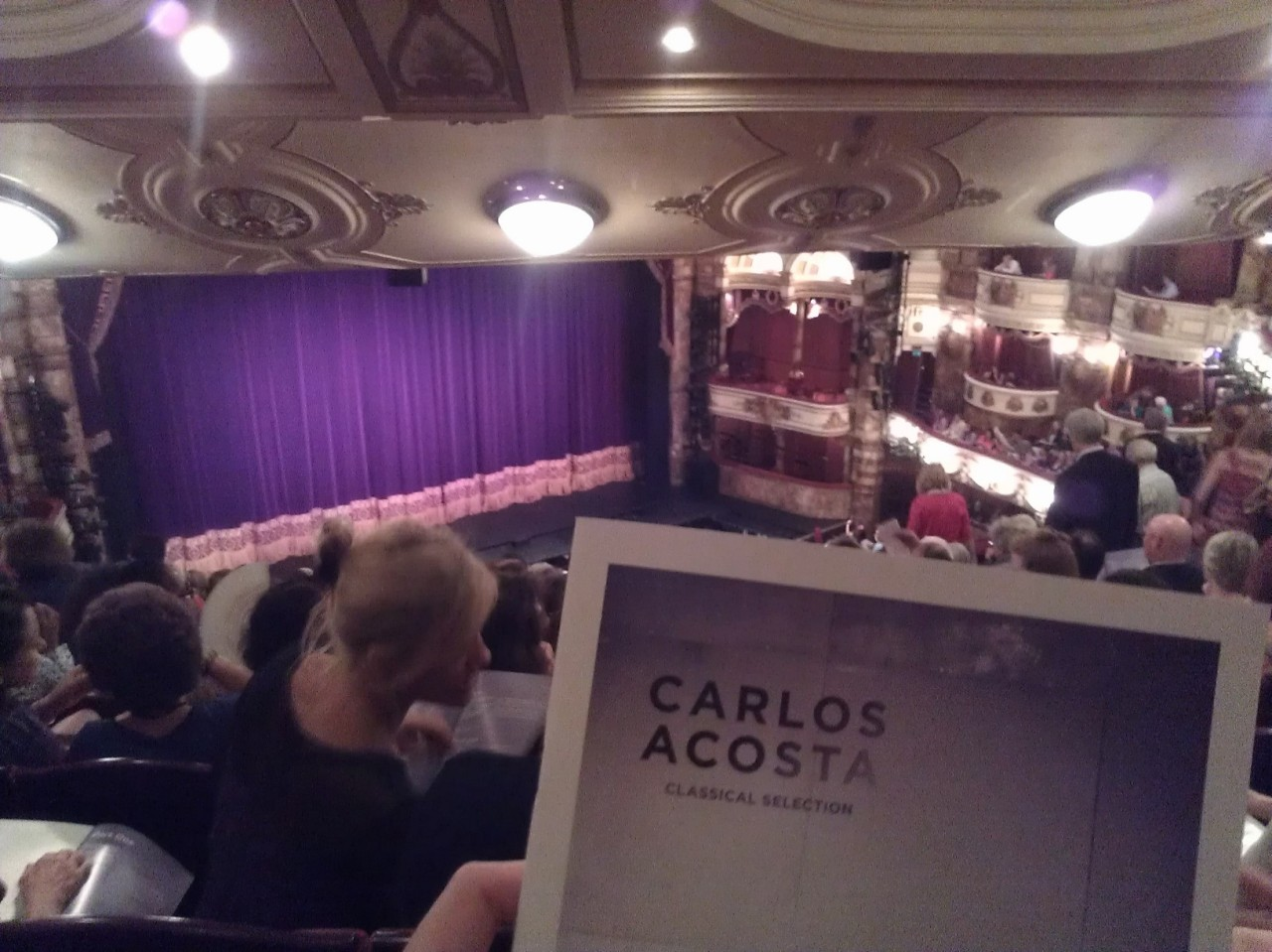 """Hemos visto… a Carlos Acosta en el Coliseum de Londres con una excelente """"Classical Selection"""" con la que conmemora su 40 aniversario esteverano"""