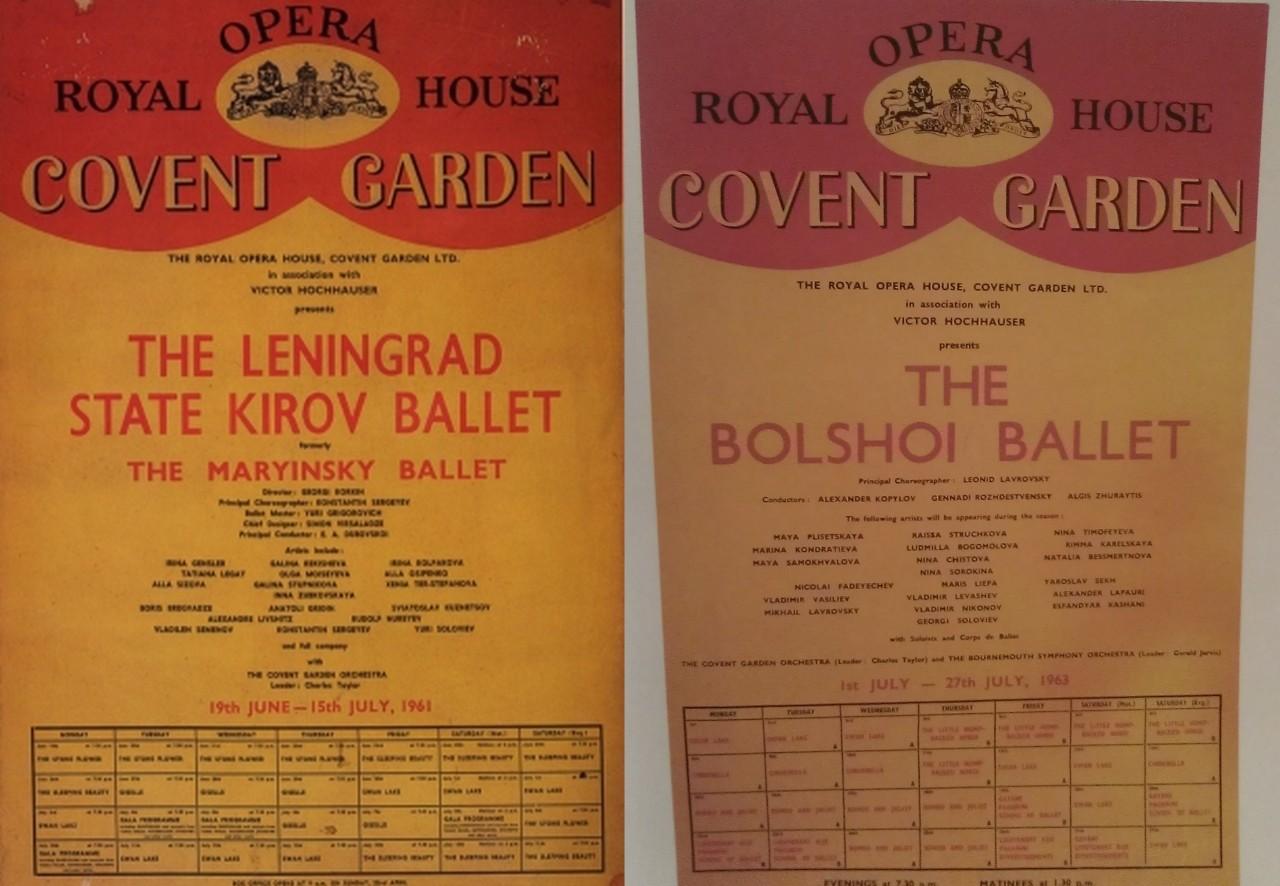 "Y si no podéis ir a Moscú y os resulta más fácil acercaros a Londres… ""guía"" para poder ver ballets del Bolshoi en CoventGarden"