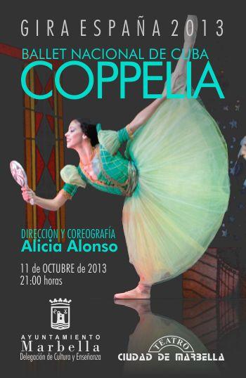 El Ballet Nacional de Cuba empieza su gira 2013.