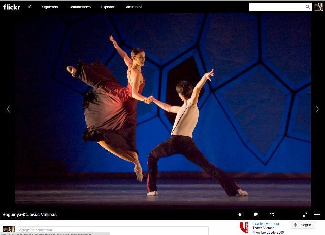 Ballet Victor Ullate - Seguiriya - Foto Jesus Vallina - Teatre Victoria