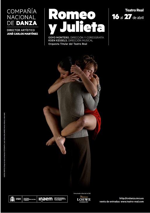 """Hoy domingo 20 de octubre a las 21.00 en La 2 """"ROMEO Y JULIETA"""" de la CND (grabación del Teatro Real de abril2013)"""