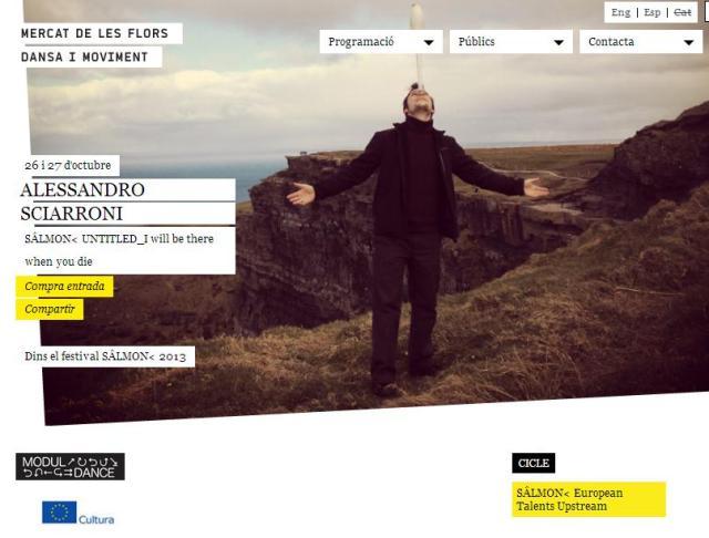S^LMON<  2013 Alessandro Sciarroni UNTITLED_I will be there when you die, 26 y 27 de octubre