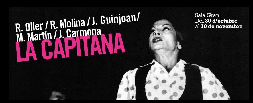 Hoy domingo 18:00 no os perdáis el último pase del espectacular LA CAPITANA, homenaje a Carmen Amaya en el TNC, con grandes del baile flamenco como son Ramón Oller, Rocío Molina, Jesús Carmona, la cantaora Mayte Martín y el músico JoanGuinjoan