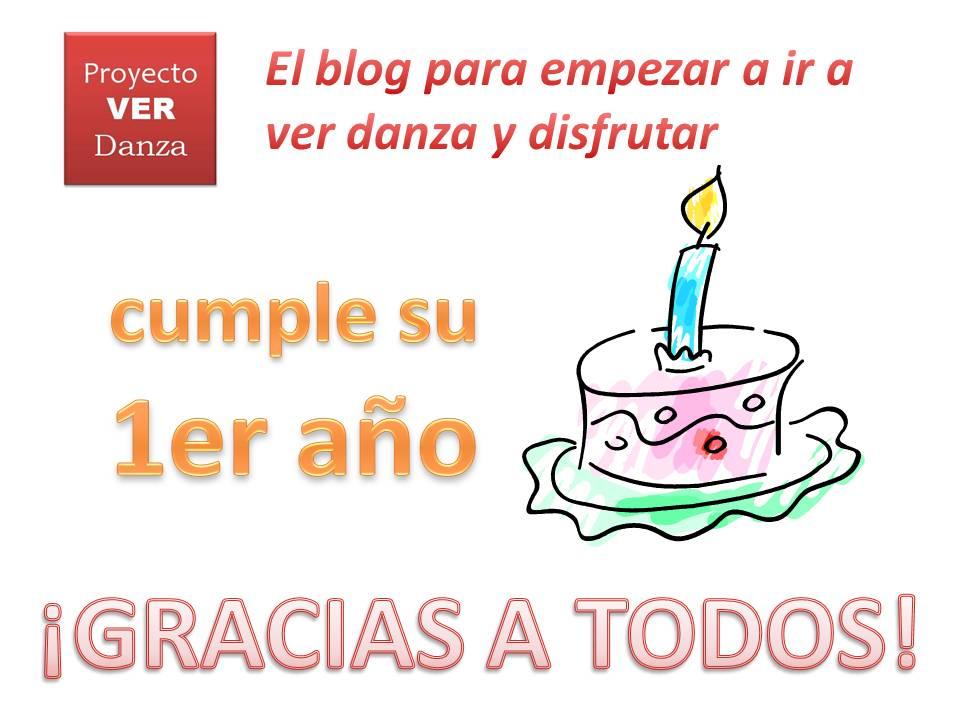 1er aniversario blog_GRACIAS