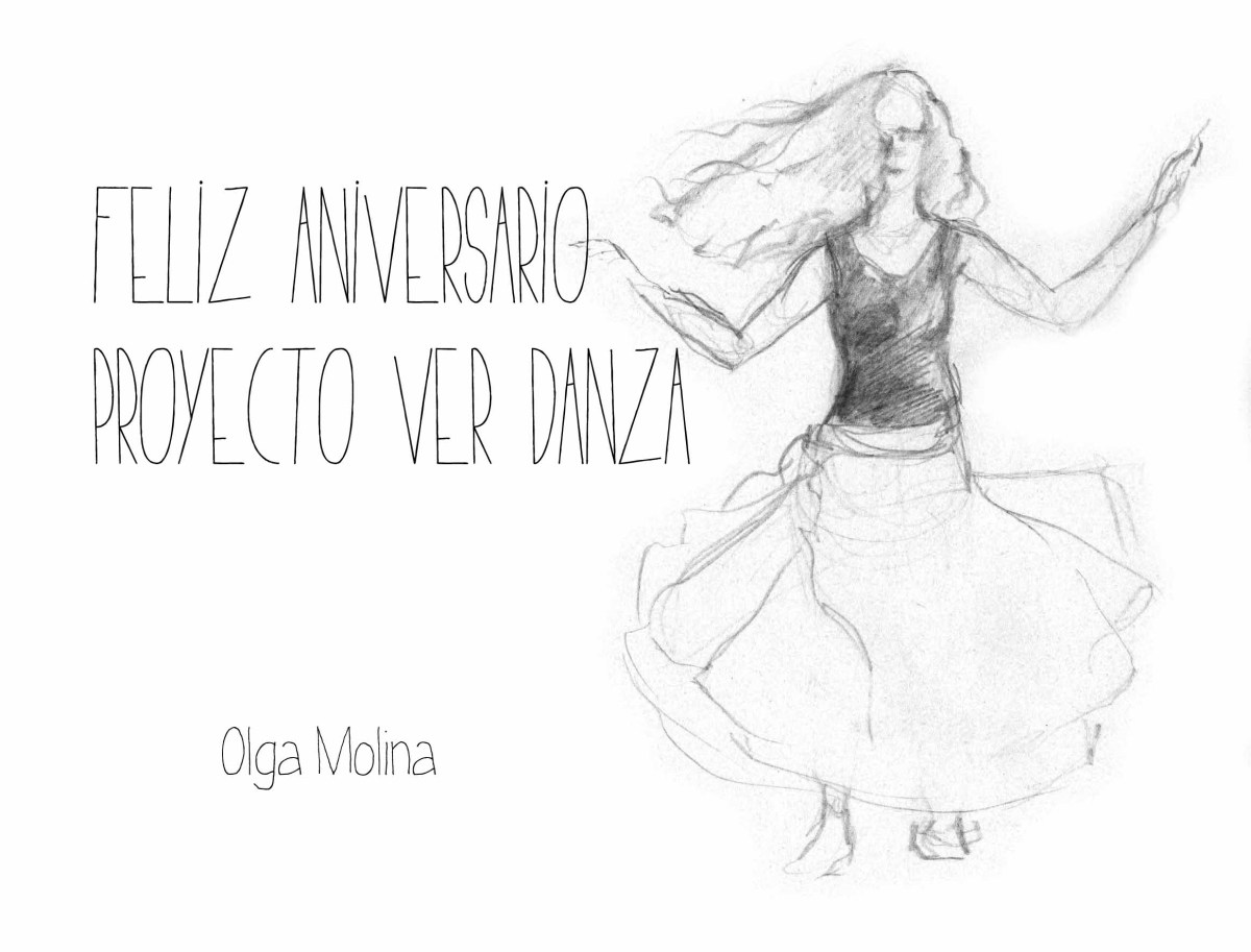 Felicitación para Proyecto VER Danza por su 1er aniversario