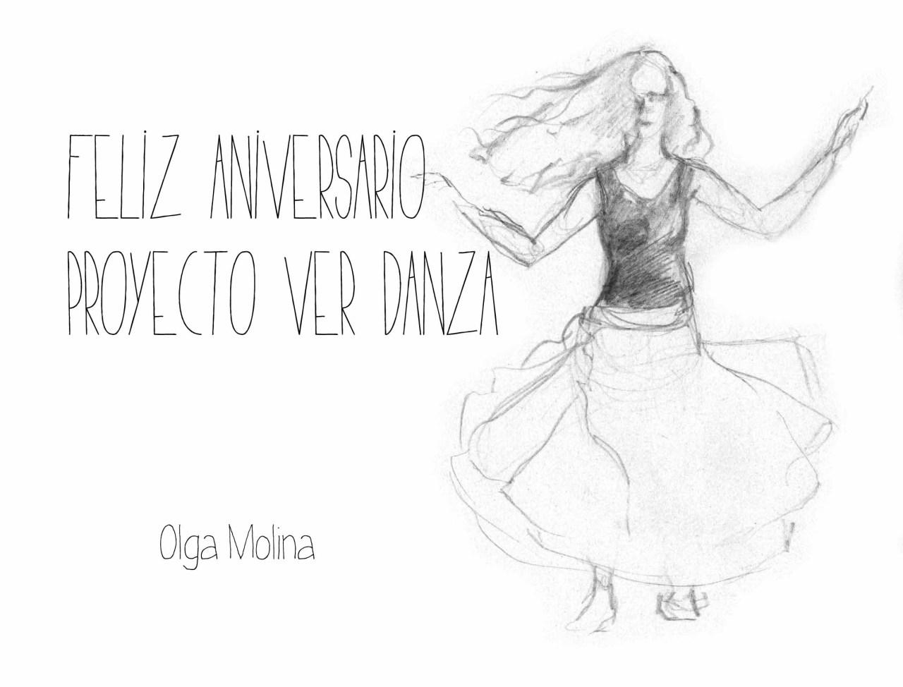 Felicitación para Proyecto VER Danza por su 1eraniversario