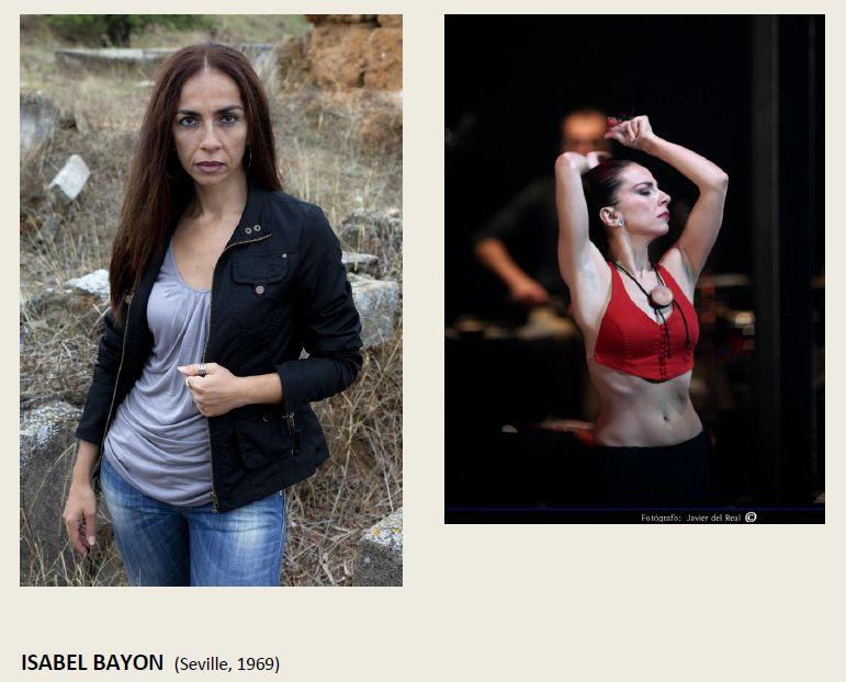 Isabel Bayon en LO REAL de Israel Galvan