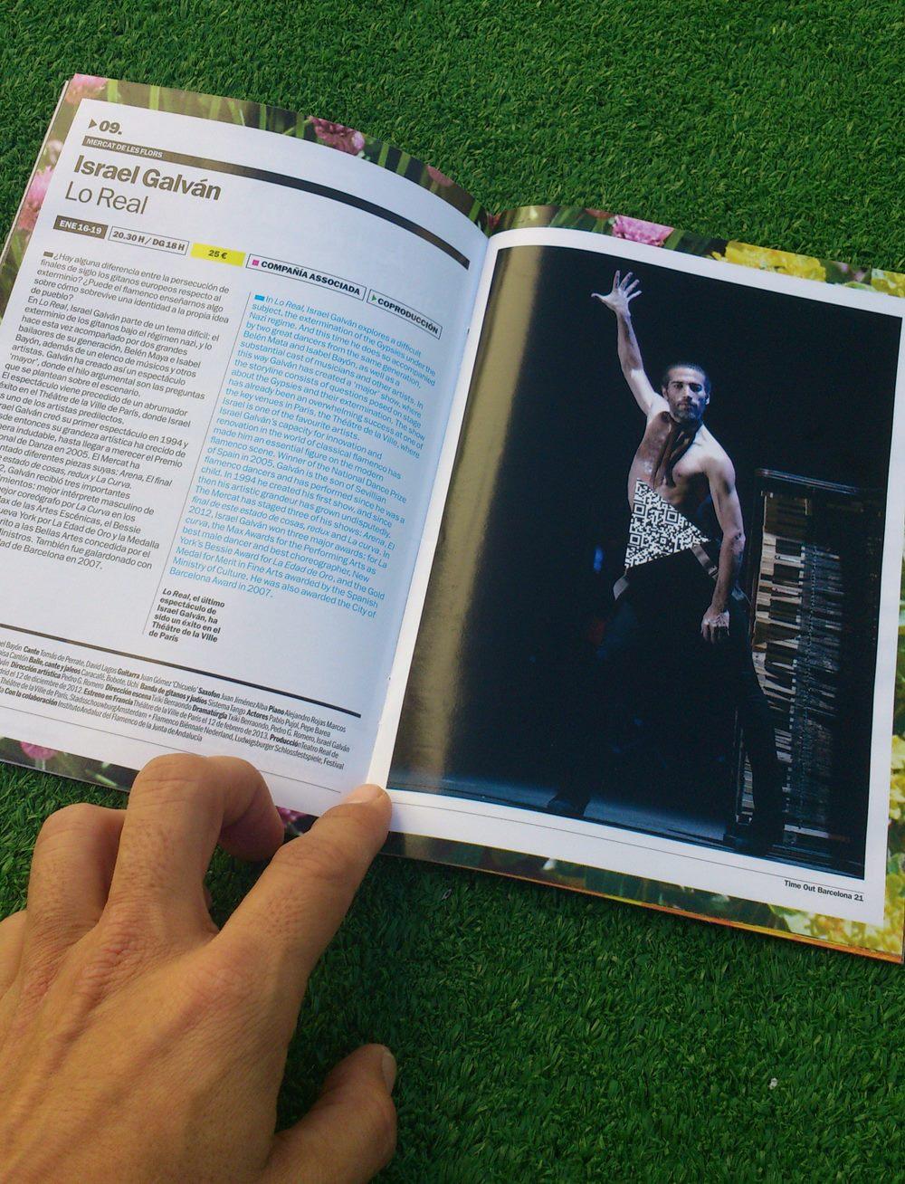 "Vamos a ver LO REAL de Israel Galván el jueves 16 de enero del 2014 en el Mercat de les Flors. El ""outsider"" del flamenco nos bailará loimbailable."