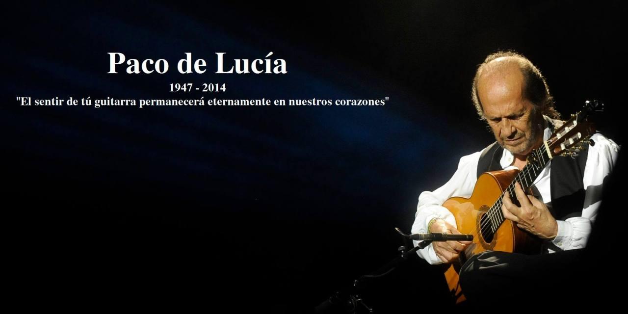 Paco de Lucía. Despedida