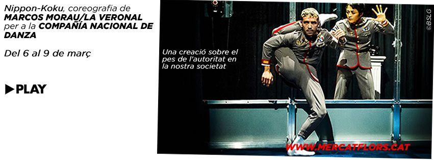 Dicho y hecho, 14 personas fuimos ayer a ver NIPPON-KOKU de la CND con coreografía de Marcos Morau & La Veronal, y salimosemocionados