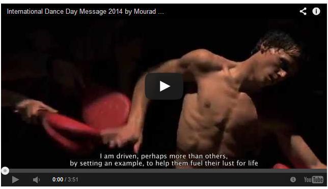 Mensaje del día Internacional de la Danza 2014 de MouradMerzouki