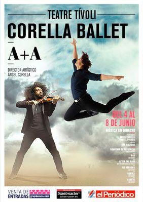 Ángel Corella y Ara Malikian: puro virtuosismo y conexión con el público. ¡Bravo por el estreno mundial de A+A en el TeatreTívoli!