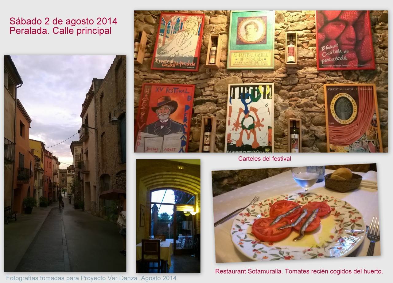 collage PERALADA previo a la gala ENB TAMARA ROJO 2 agosto 2014