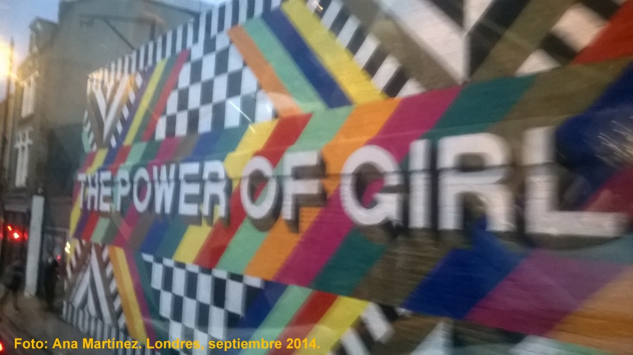 THE POWER OF GIRL London sep 2014