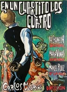 EN UN CUARTITO LOS CUATRO piano clásico, castañuelas, canción lírica española y baile flamenco en la Sala Muntaner hasta el domingo 28 dejunio