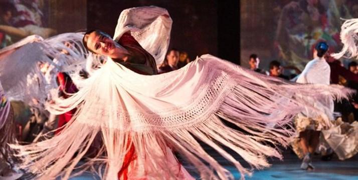 Proyecto VER Danza desembarca en el Teatre del Liceu con un grupo de 14 para ver el ballet SOROLLA del BNE, se nos ha hecho cortísimo, y yorepetiría