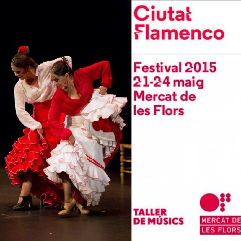 CIUTAT FLAMENCO 2015. Imagen del cartel con Belen Maya y Patricia Guerrero