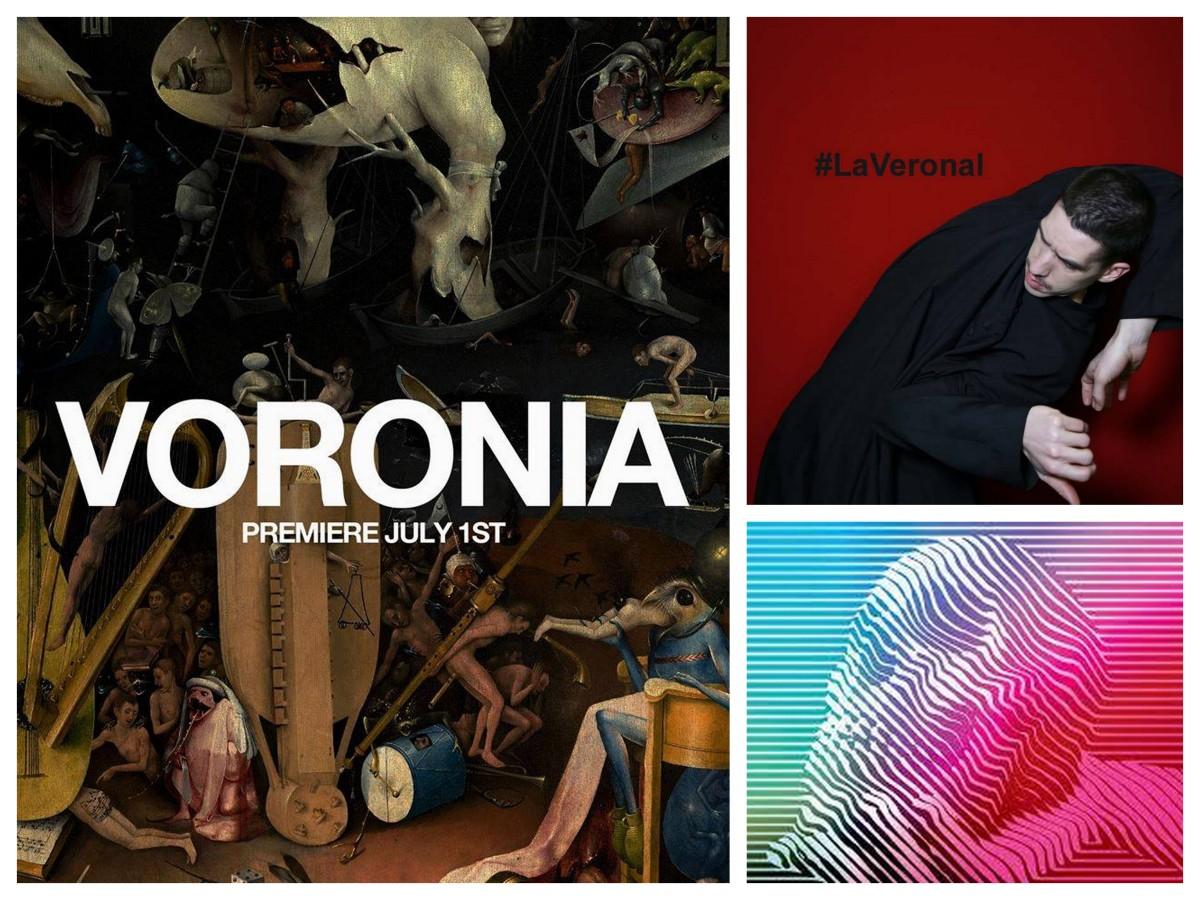 Dicho y hecho, un grupo de 8 fuimos a ver VORONIA de LA VERONAL en la inauguración del Festival Grec de Barcelona