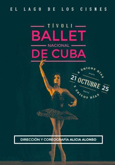 BALLET NACIONAL DE CUBA Lago Cisnes TIVOLI BCN octubre 2015