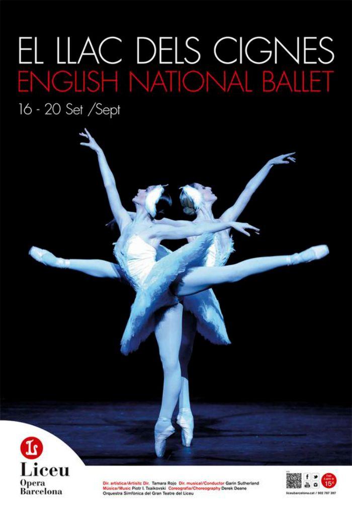Un lujo vivir la magia del ballet en el estreno del LAGO DE LOS CISNES del ENB de Tamara Rojo en el Teatre del Liceu. ¡Nuestras 14 entradasenvidiadísimas!
