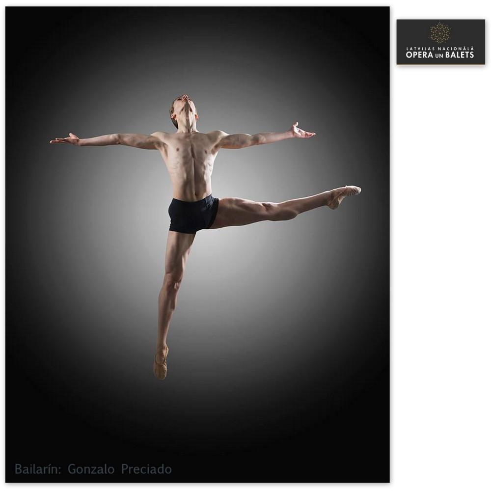 Gonzalo Preciado en el Ballet Nacional de Letonia
