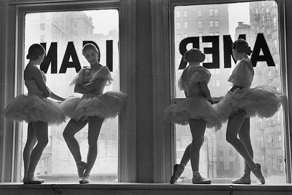 Eisenstaedt-Ballerinas 1936 George Balanchine School of American Ballet