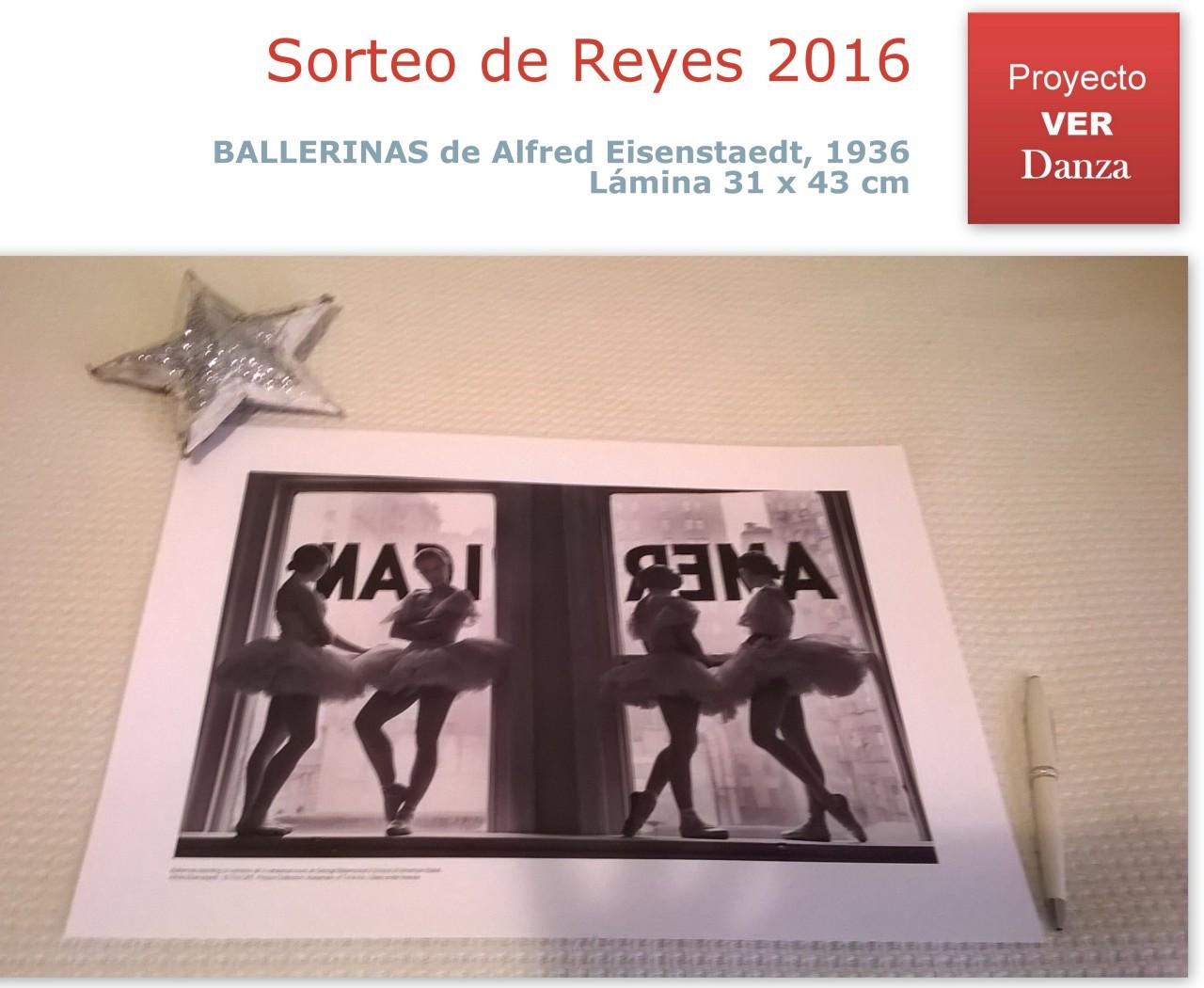 Sorteo REYES 2016 Proyecto VER Danza