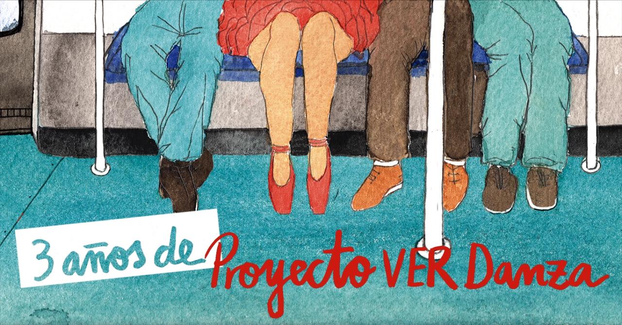 3er aniversario del blog Proyecto VER Danza de Ana Martínez