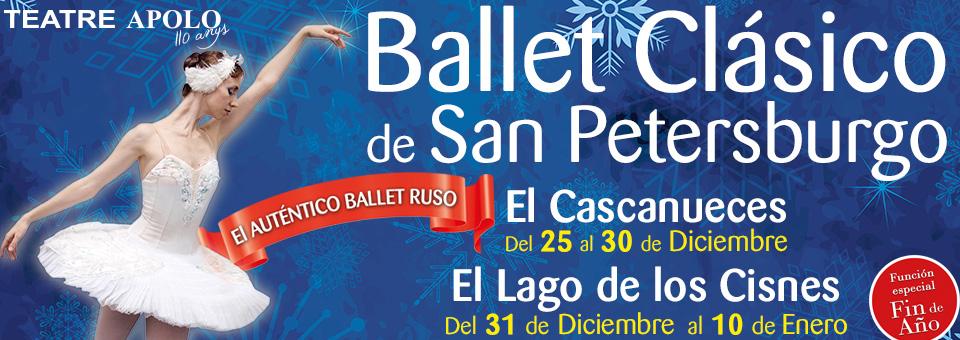 Teatre Apolo- Ballet de San Petersburgo LAGO DE LOS CISNES