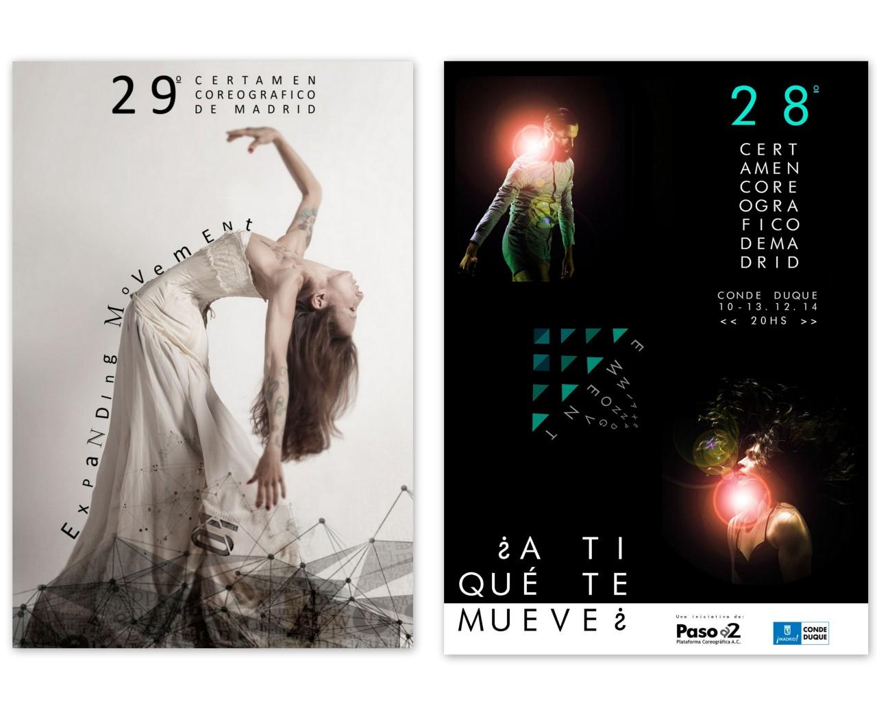 28 y 29 Certamenes Coreograficos de Madrid en CONDE DUQUE