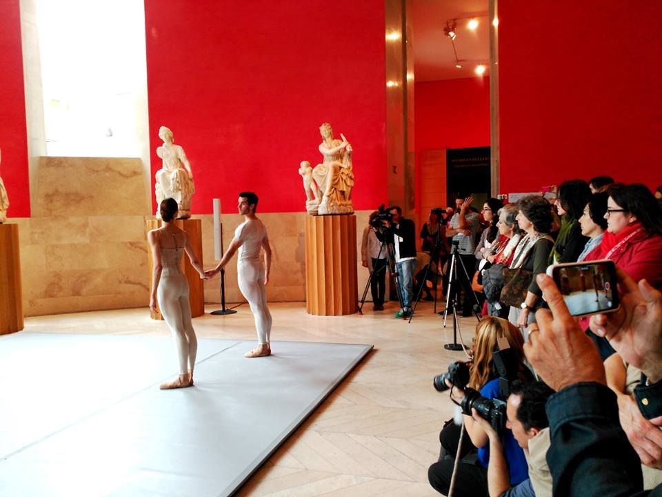 JOSUE ULLATE y MARLEN en el Asalto de Danza al Museo del Prado en Mayo 2016