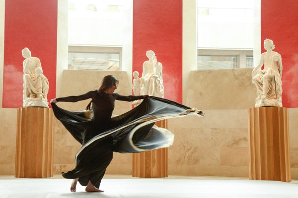 MARIA PAGES Asalto de Danza al Museo del Prado Mayo 2016