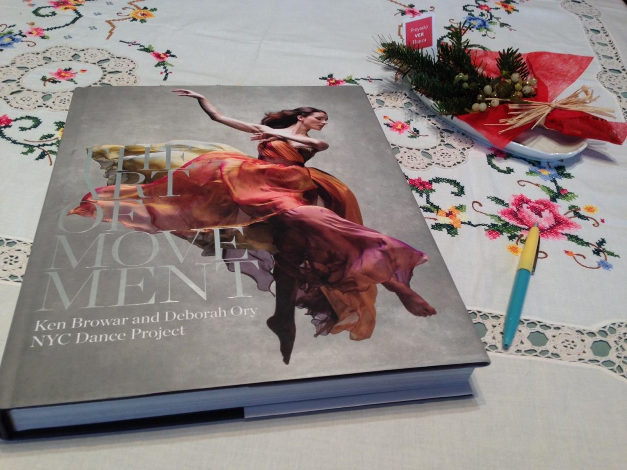 Sorteo de Reyes de PROYECTO VER DANZA del espectacular libro de fotografías THE ART OF MOVEMENT de NYC DanceProject
