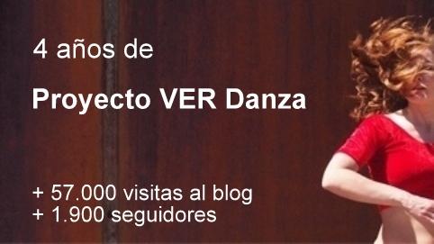 El blog Proyecto VER Danza cumple 4años