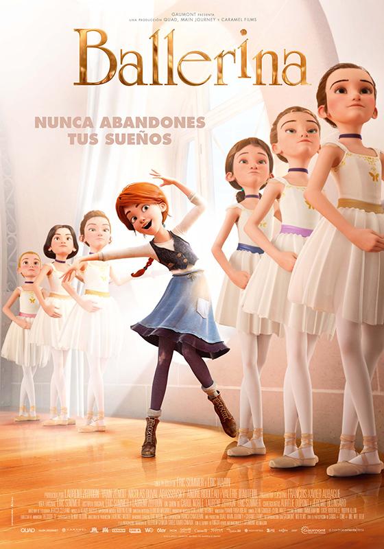 Estreno de la película BALLERINA el 27 de enero en los Cines Verdi de Barcelona y en muchas otrasciudades