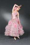 Vestido diseñado por Valentino.
