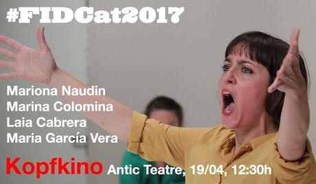FID CAT 2017 KOPFKINO Antic Teatre