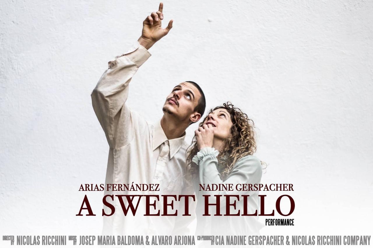 Mañana en L'ESTRUCH de Sabadell A SWEET HELLO una historia bailada de Nicolas Ricchini y NadineGerspacher