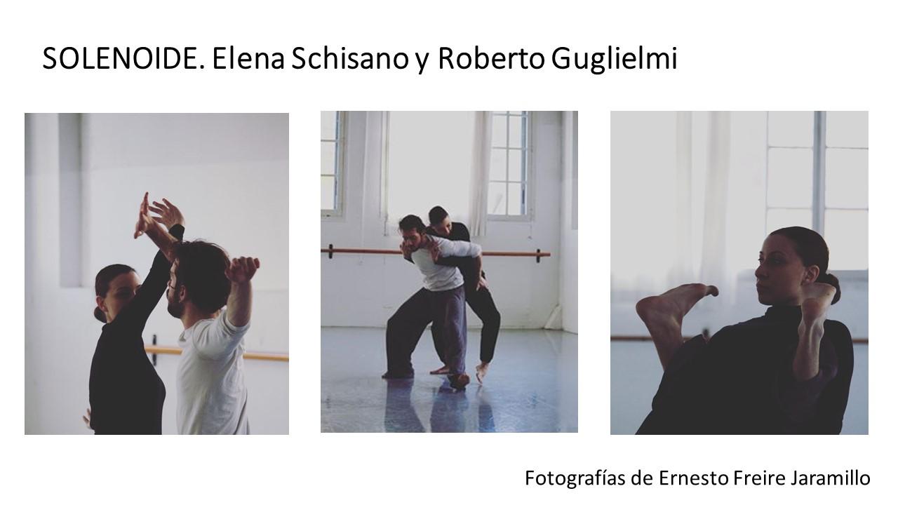 Diapositiva1SOLENOIDE es una pieza coreográfica de Elena Schisano y Roberto Gugliemi