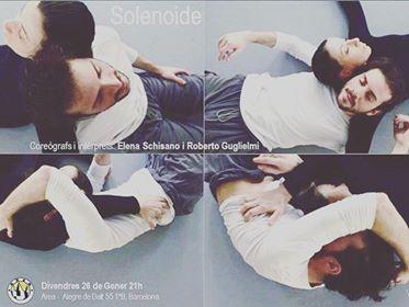 Este viernes magnetismo con el SOLENOIDE de Elena Schisano y Roberto Guglielmi en el programa de piezas cortas de A R E A  DIVENDRES OBERT DERECERCA