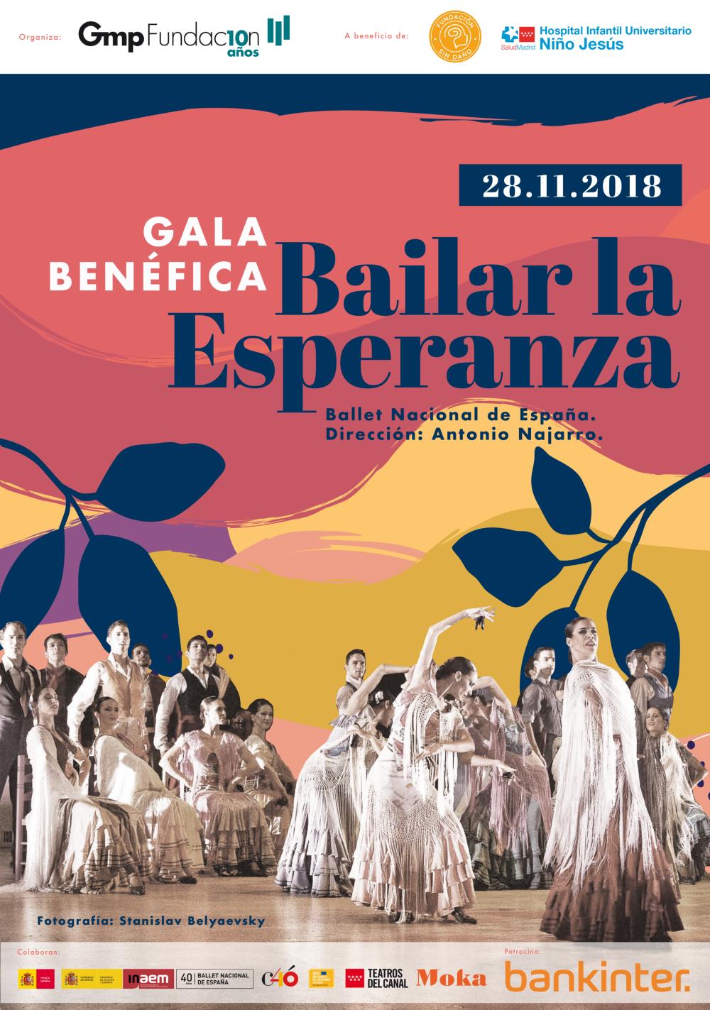 Gala benéfica del BNE para los niños con Daño Cerebral Adquirido el próximo miércoles 28 nov en TEATROS DEL CANALMadrid