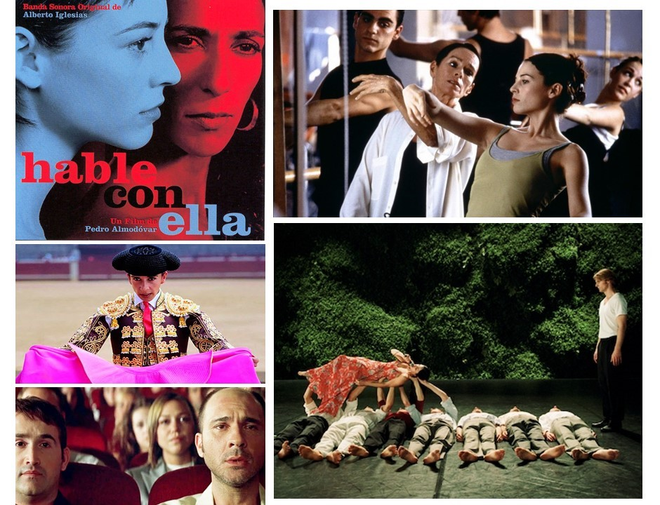 Collage de HABLE CON ELLA (2002) de Almodóvar