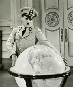 EL GRAN DICTADOR (1940) y la Bola del Mundo. Chaplin